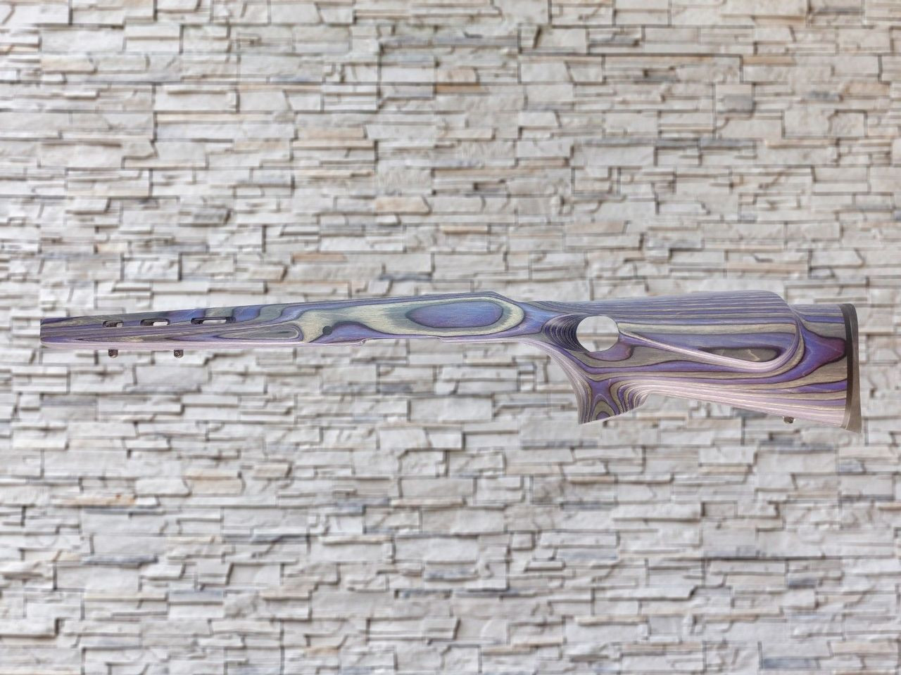 Boyds Featherweight Wood Stock Royal Purple for Ruger American Short Action