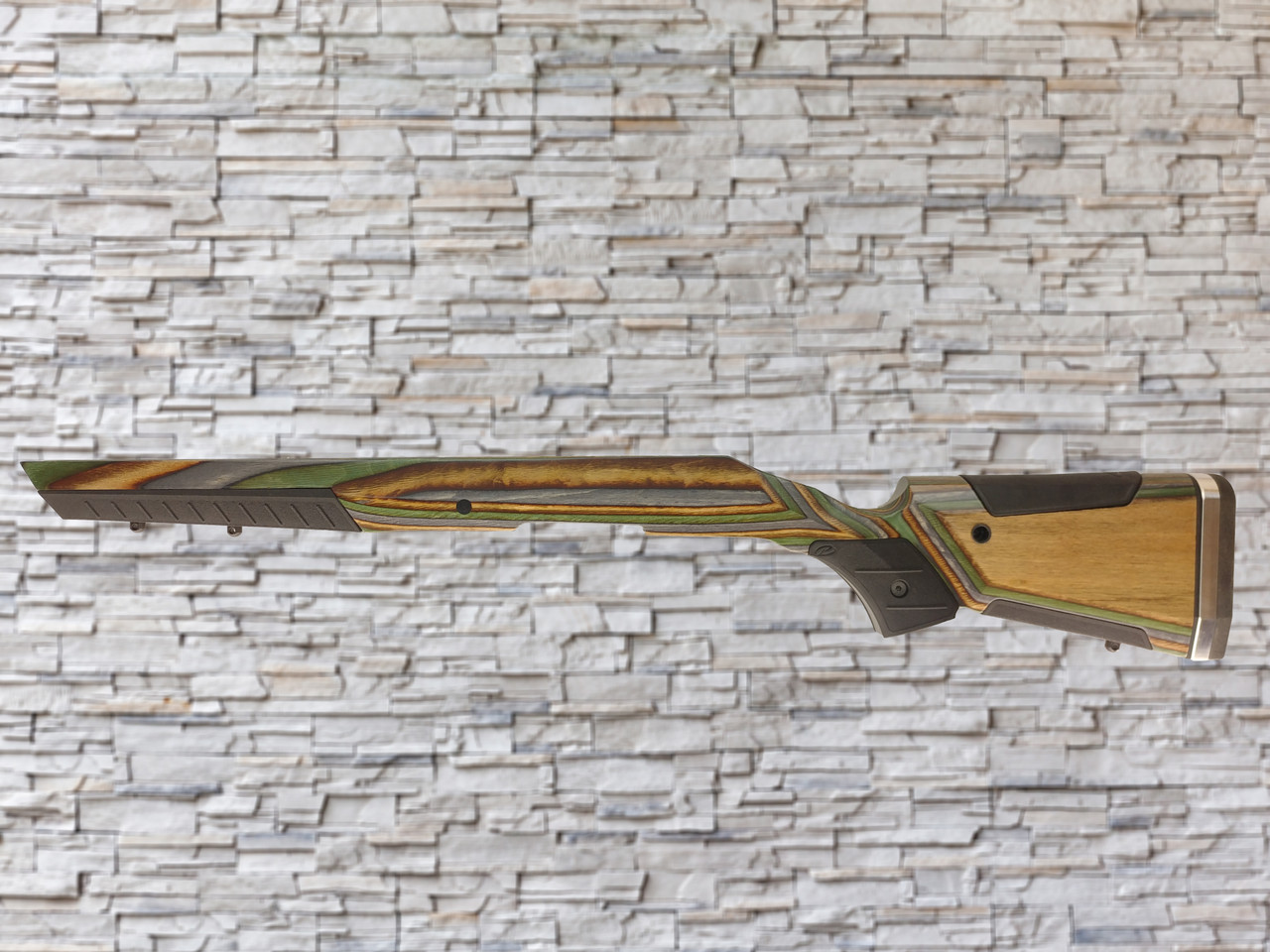 Boyds At-one Adjustable Wood Stock Forest Camo for Ruger American SA Rifle