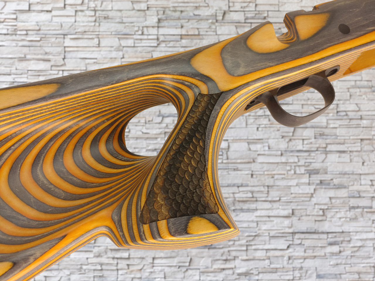 Boyds FW Wood Stock Scale Texturing Blaze for Savage AXIS SA Bull Barrel  Rifle
