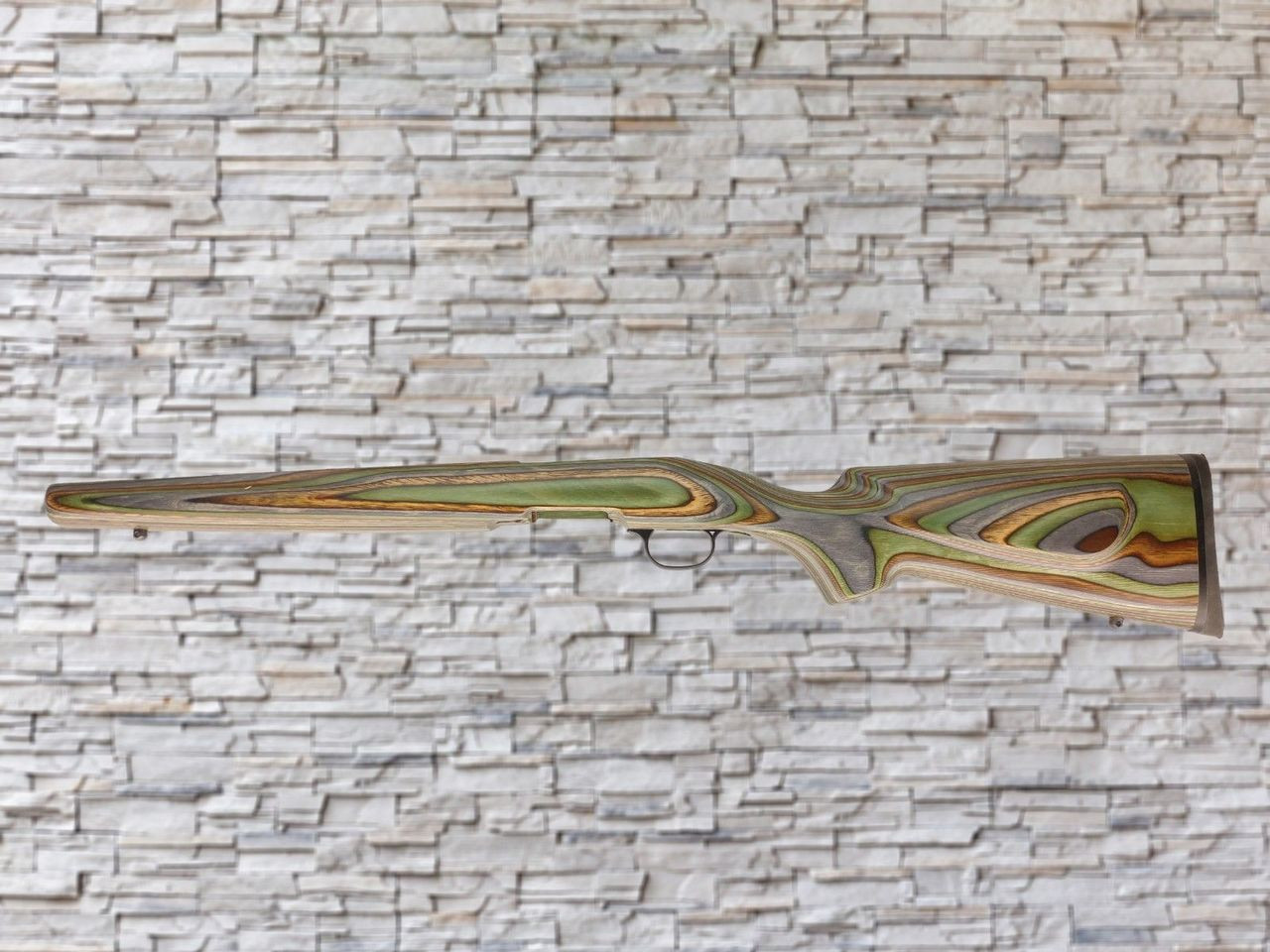 Boyds Classic Forest Camo Wood Stock for Savage B-Mag Bull Barrel Rifles