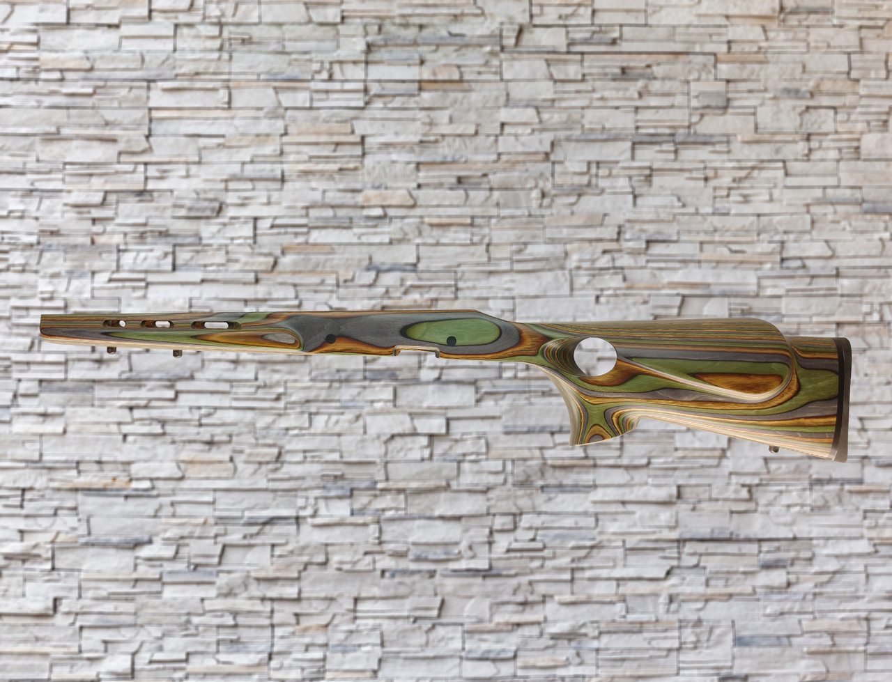 Boyds Featherweight Wood Stock Camo For Remington 700 SA Factory Detachable Magazine