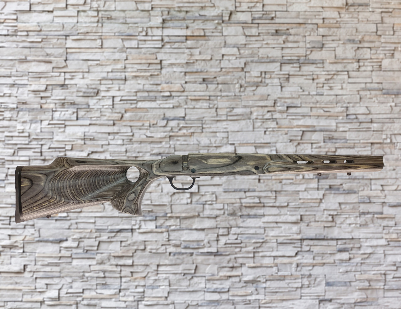 Boyds Featherweight Wood Stock Pepper for Mossberg Patriot Bolt SA Rifle