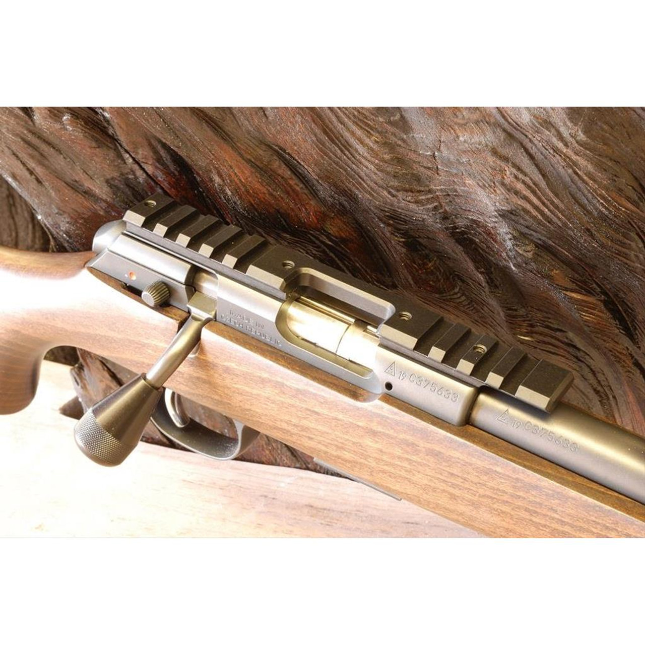DIProducts Aluminum Dovetail to Picatinny Black Scope Rail For All CZ 457 Rifle