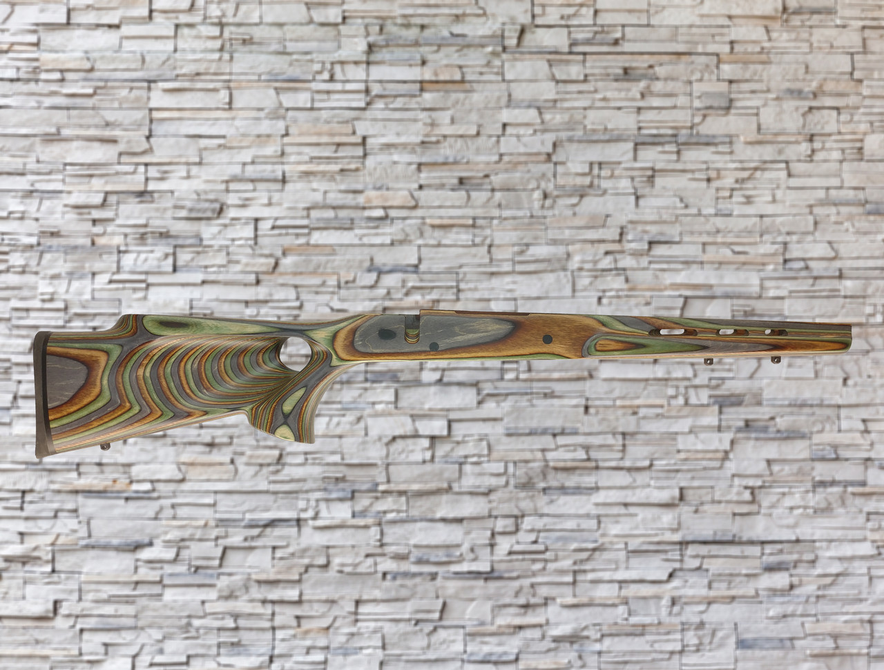 Boyds FW Wood Stock Camo For Weatherby Vanguard/Howa 1500 LA 1-PC Floorplate