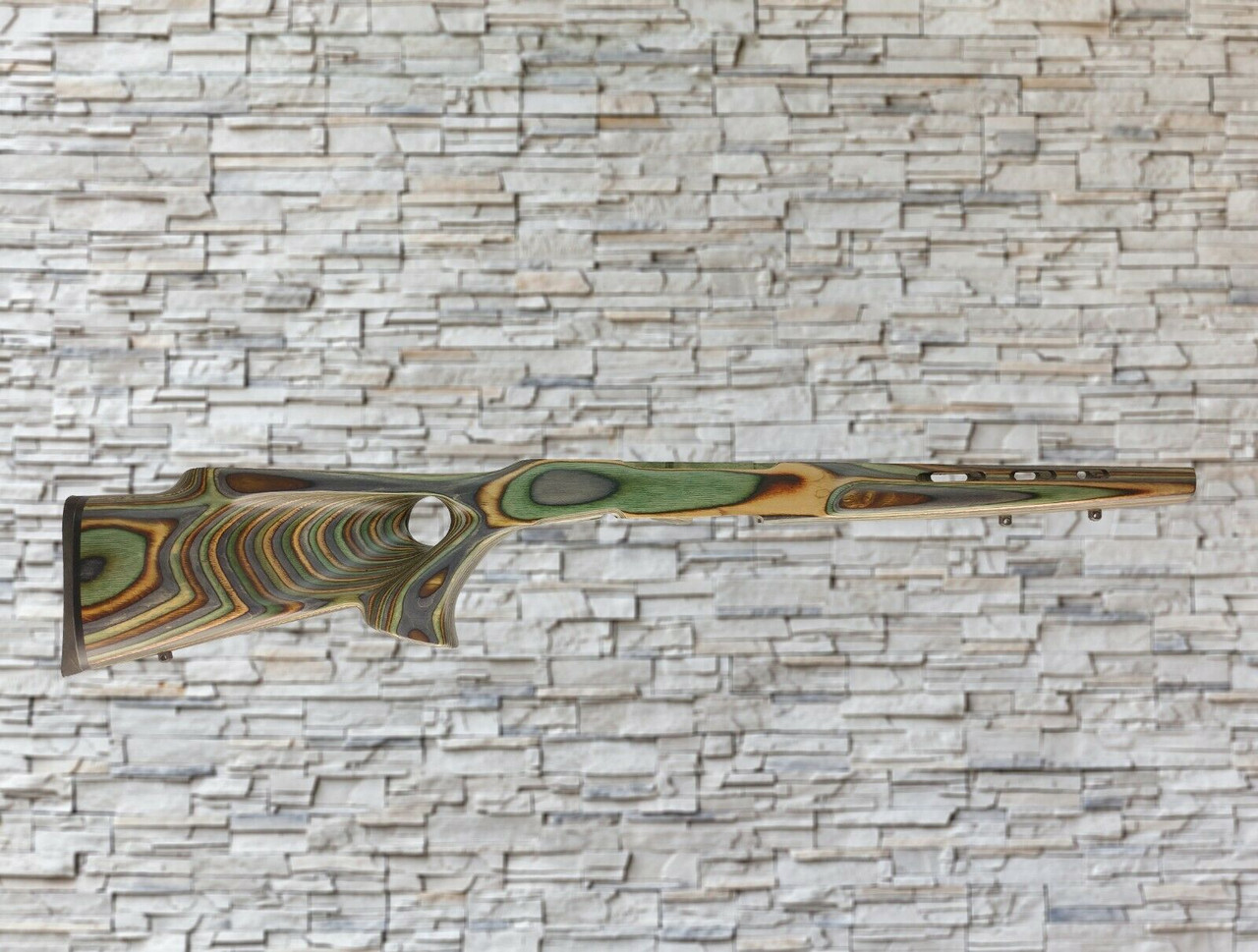 Boyds Featherweight Wood Stock Camo For Savage A-17/A22 WMR Bull Barrel