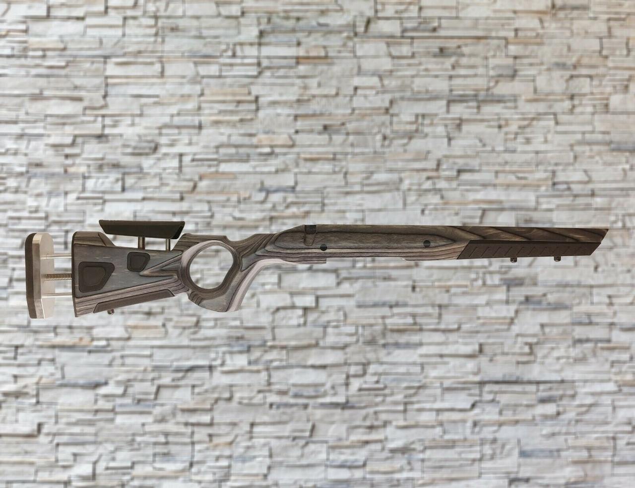 Boyds At-One Thumbhole Wood Stock Pepper For Remington 770 Tapered Barrel Rifle