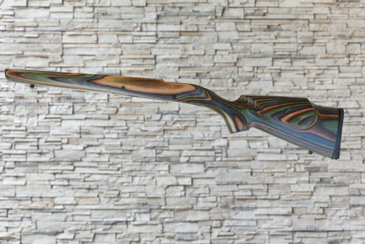 Boyds Prairie Hunter Camo Wood Stock for Ruger 77MKII LA Rifles