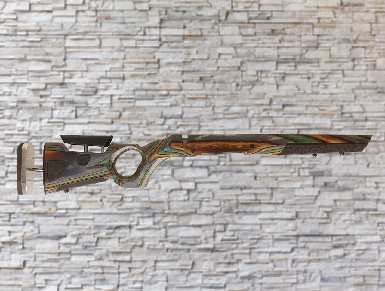 Boyds AT-One Thumbhole Wood Stock Camo For Thompson Center Compass SA Rifle