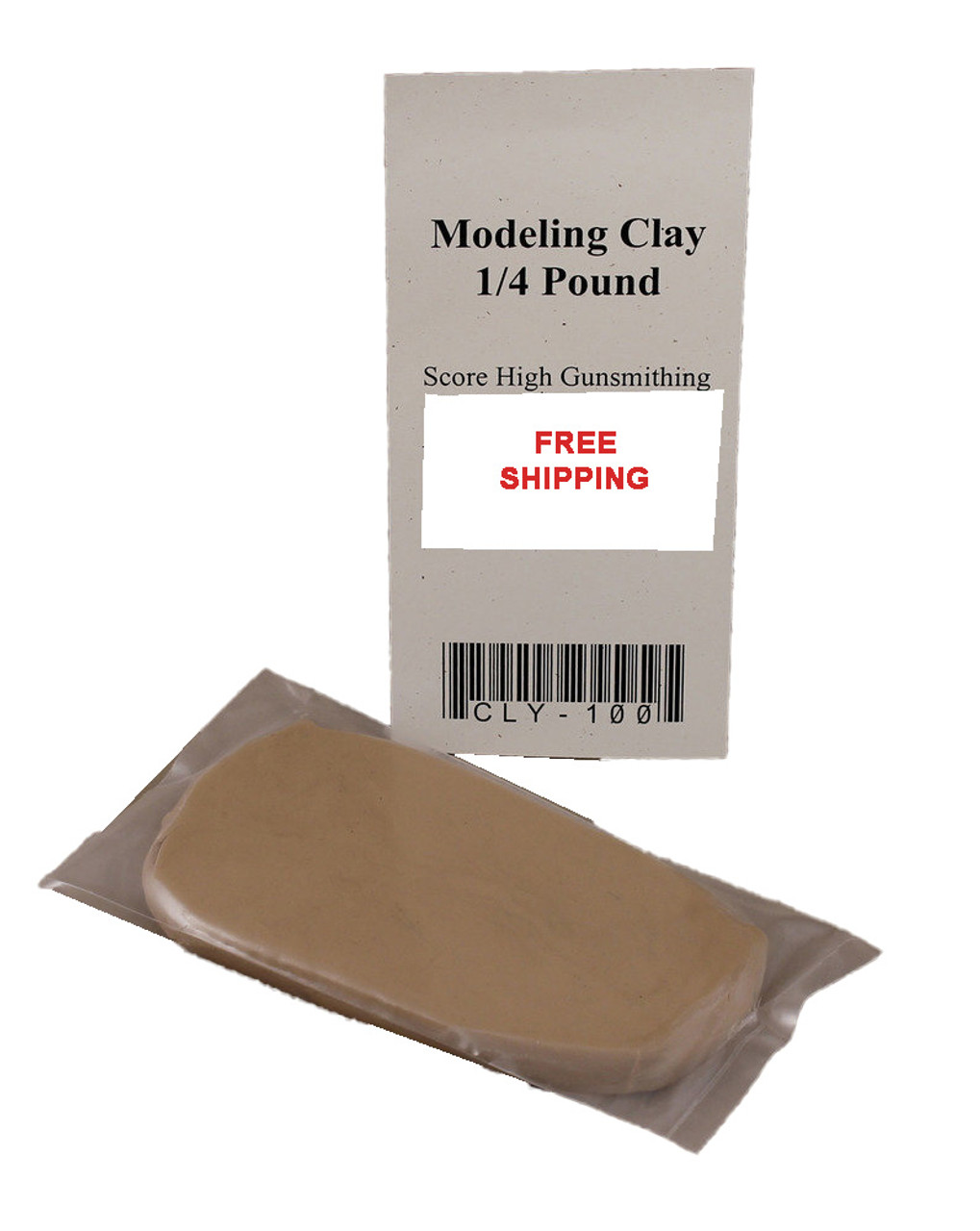 Score High Gunsmithing Modeling Clay 1/4 Pound