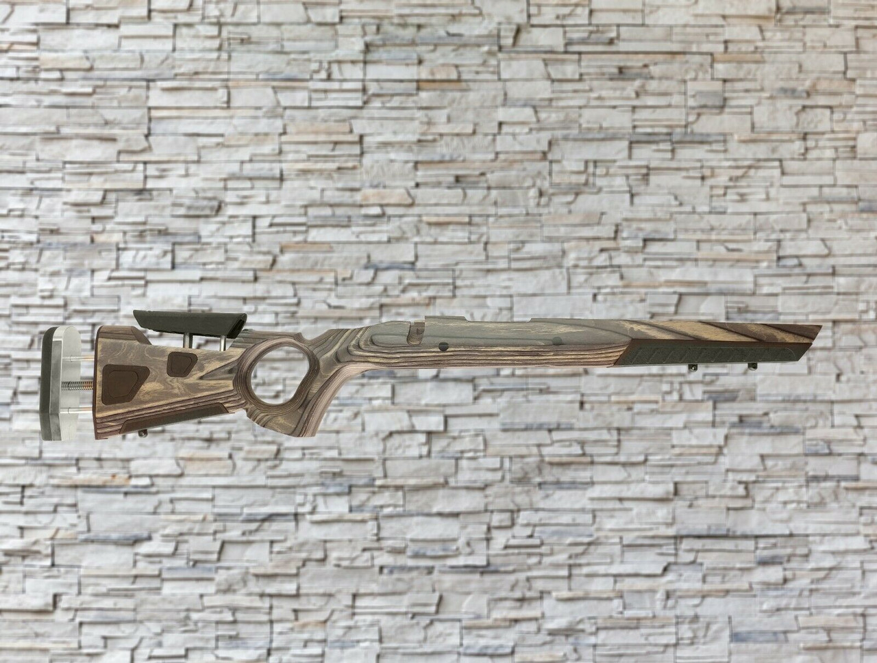 Boyds At-One Thumbhole Wood Stock Pepper for Marlin Xs7 SA Tapered Barrel Rifles