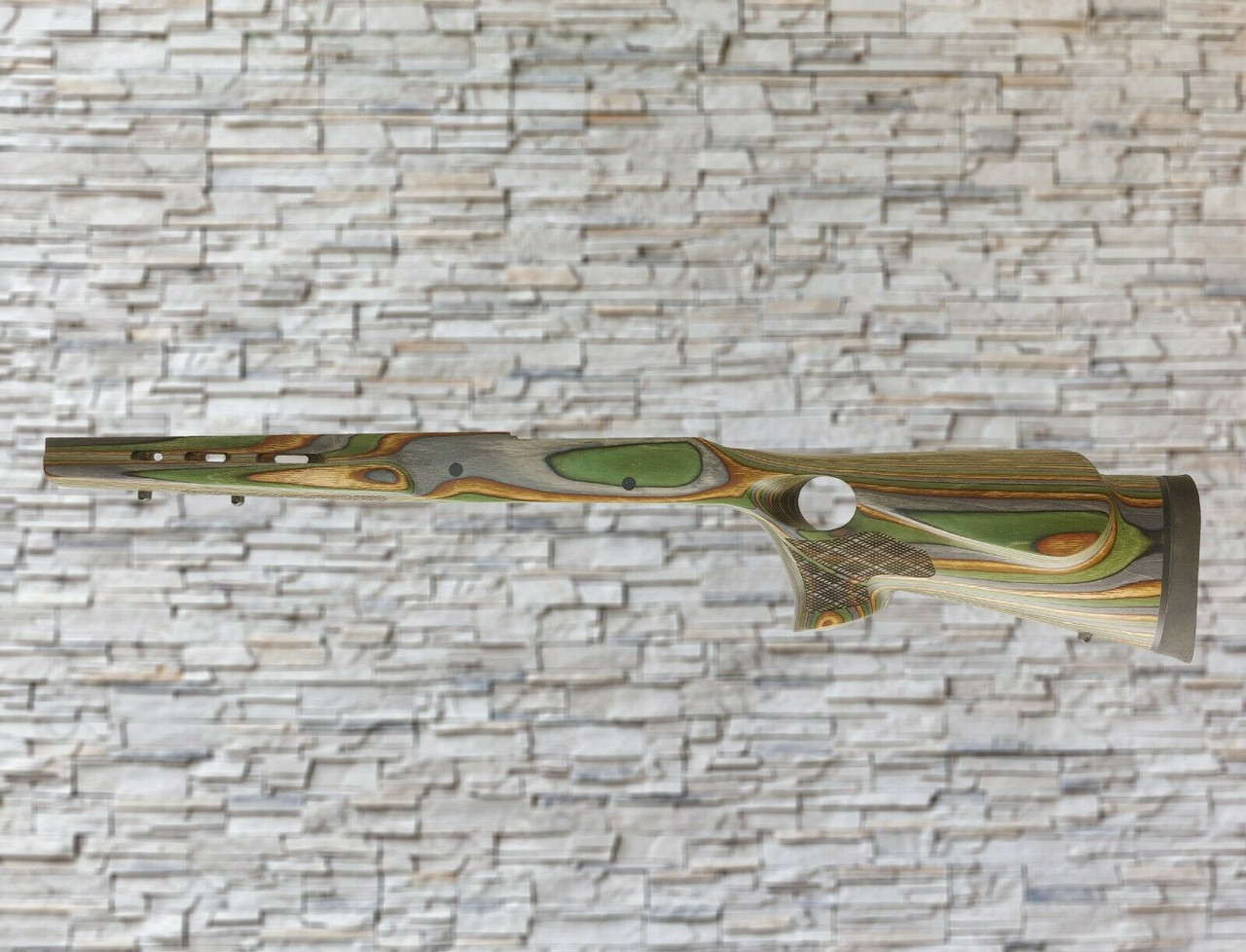 Boyds Featherweight Wood Stock Camo Skip Line Checkering for Mossberg MVP SA