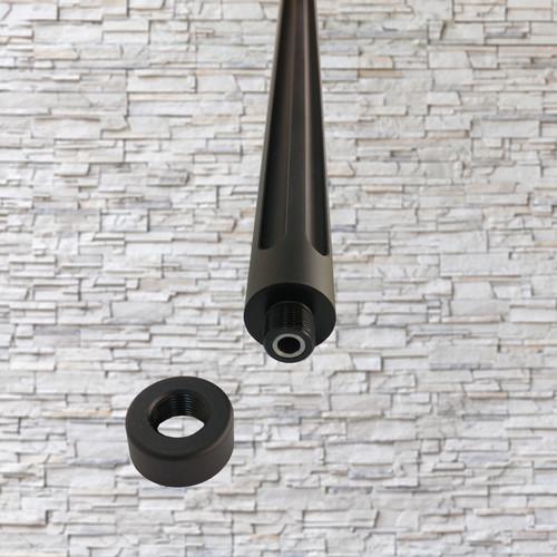 "Tactical Solutions TE 16.5"" X-Ring Bull Barrel Matte Black for Ruger 10/22 1022"