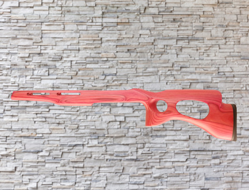Revolution Yukon Extreme Bull Barrel Wood Stock Hot Pink For Ruger 1022