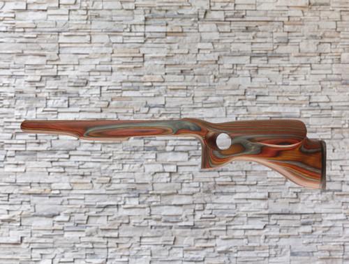 Revolution Yukon Bull Barrel Wood Stock Cayenne for Ruger 10/22