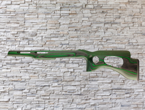 Revolution Extreme Bull Barrel Wood Stock Evergreen For Ruger 10/22