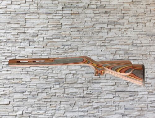Revolution Vented Trailblazer Bull Channel Wood Stock Cayenne for Ruger 10/22