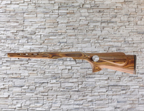 Boyds Featherweight Nutmeg Stock Savage B-Mag 17WSM Tapered Barrel Rifle