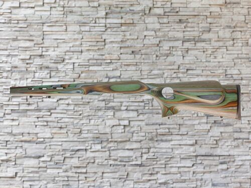 Boyds Featherweight Forest Camo Wood Stock for Ruger American SA Rifles
