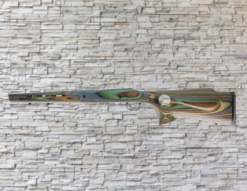 Boyds Featherweight Wood Stock Camo for Savage AXIS LA Tapered Barrel Rifle