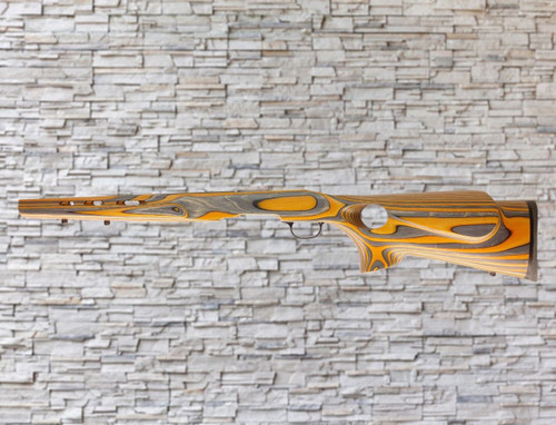 Boyds Savage B-Mag FeatherWeight, Factory Tapered Barrel Laminated Wood Stock Blaze