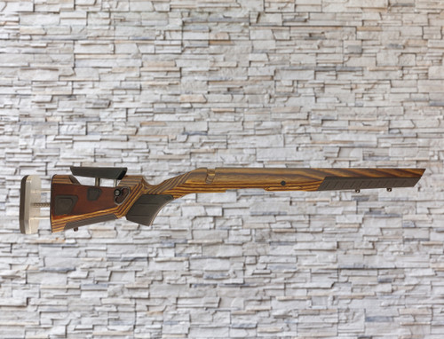 Boyds At-one Adjustable Wood Stock Nutmeg for Ruger American Short Action Rifle