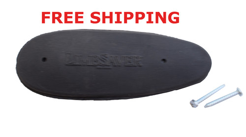 """Limbsaver 1"""" Recoil Pad Butt Pad 5.2""""x1.95"""" A50000 FOR RIFLE Stocks"""