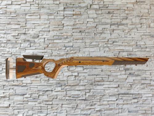 Boyds At-one Thumbhole Wood Stock Nutmeg for Savage AXIS SA Bull Barrel Rifle