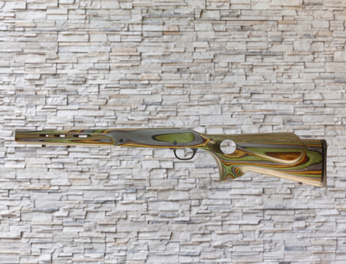 Boyds Featherweight Wood Stock Forest Camo for Mossberg Patriot Bolt LA Rifles