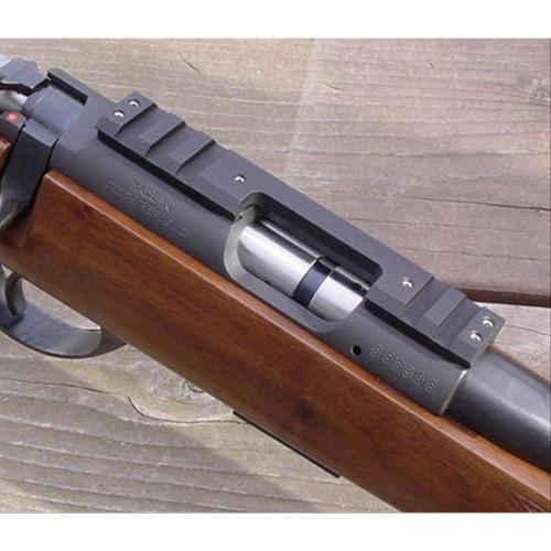 DIP 11mm Dovetail to Picatinny Scope Rail Black For CZ 455/452/453 Rifles