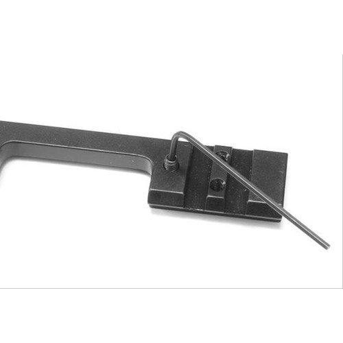 DIP Aluminum Dovetail to Picatinny Scope Rail Black For All CZ 457 Rifles