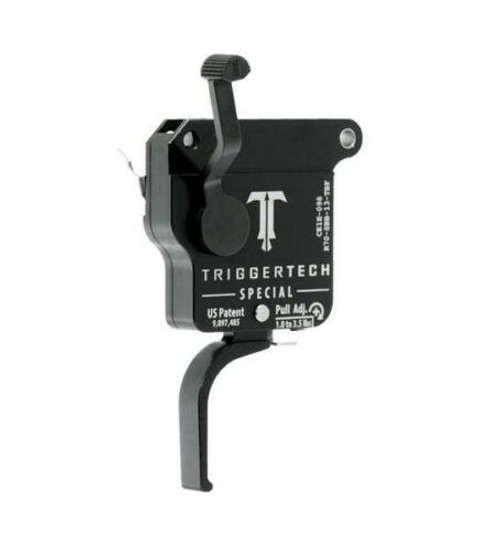 TriggerTech Remington 700 Special Flat PVD Black Single Stage Trigger