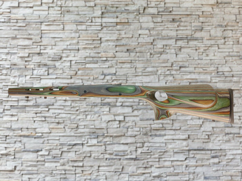 Boyds Featherweight Forest Camo Wood Stock for Ruger 77 Tang Safety LA Rifles
