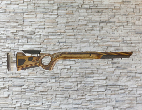 Boyds At-One Thumbhole Nutmeg Stock Tikka T3/T3X/T3 Lite Bull Barrel Rifle