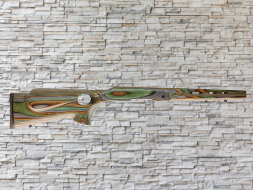 Boyds Left Handed Featherweight Wood Stock Camo for Ruger American SA Rifles