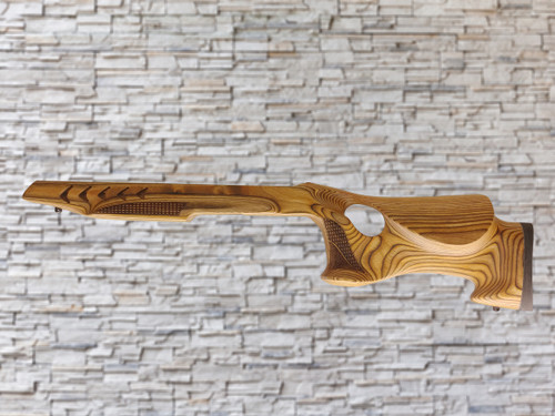 Altamont Checkered Paladin Wood Stock Brown for the Ruger 10/22