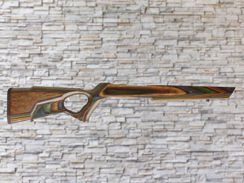 Boyds Spike Camp Forest Camo Bull Barrel Wood Stock for Ruger 10/22, T/CR22