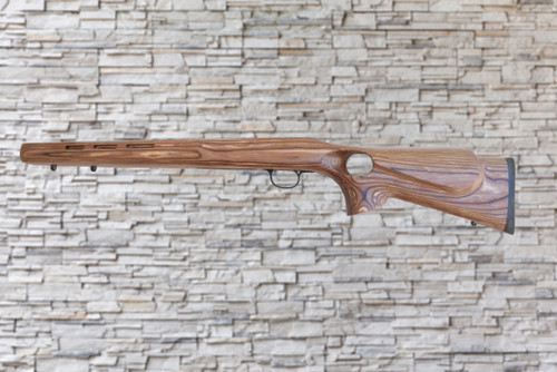 Boyds Rimfire Varmint Thumbhole Glenfield 25 Short Action Factory Barrel Stock Nutmeg