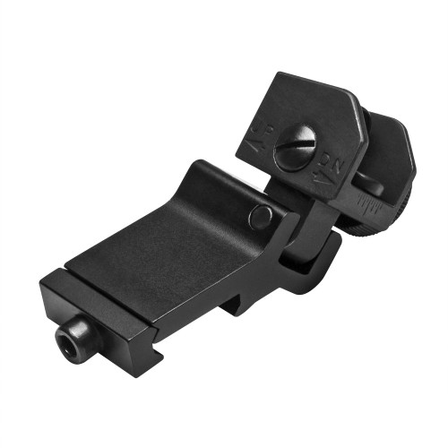 NcStar 45 Degree Offset Flip-Up AR15 Rear Sight
