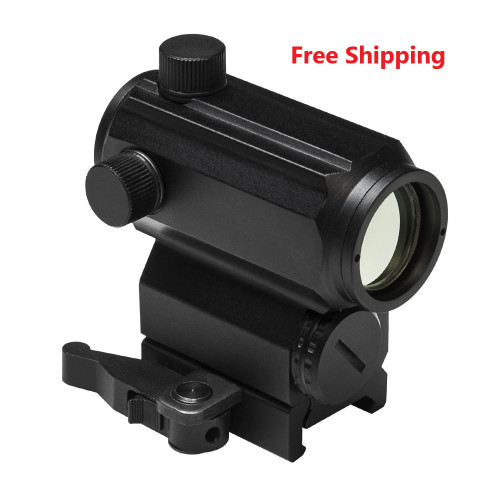 Vism 3 MOA Black Aluminum Micro Blue/Red Dot Sight