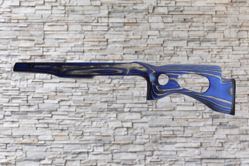 Revolution Extreme Bull Barrel Wood Stock Electric Blue For Ruger 10/22,T/CR22