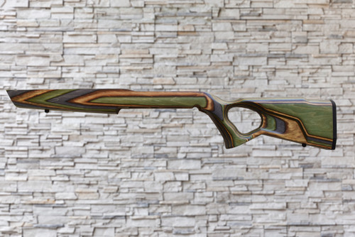 Boyds Spike Camp Forest Camo Wood Stock for Marlin 795 Clip Fed Tapered Barrel Rifles