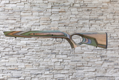 Boyds Spike Camp Camo Wood Stock for Savage AXIS LA Tapered Barrel Rifles