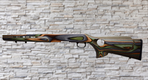 Boyds Featherweight Thumbhole Camo Stock Savage B Series Tapered Barrel Rifle