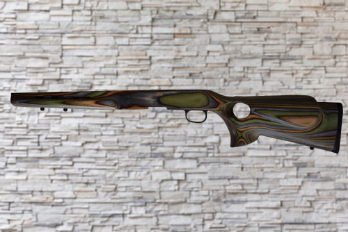Boyds Featherweight Thumbhole Camo Stock Savage B Series Bull Barrel Rifle