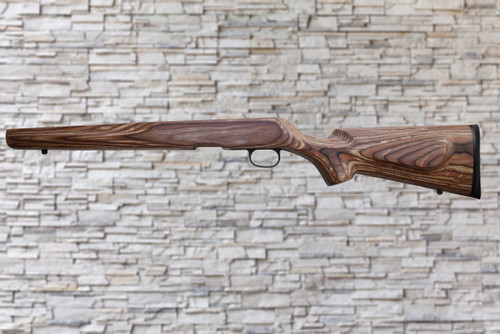 Boyds Classic Nutmeg Stock Savage B Series Bull Barrel Rifle