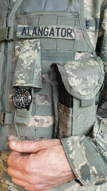 Alangator Watch Pocket, Digicam, Tactical Cover (DOES NOT INCLUDE WATCH)