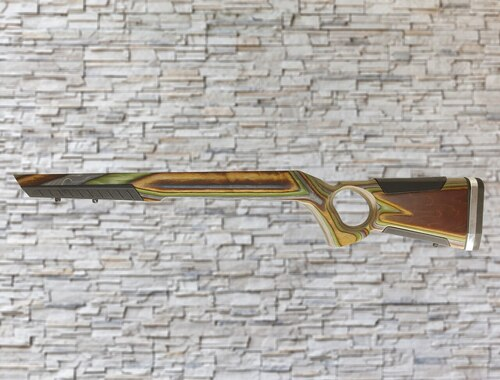 At One Thumbhole Camo Stock Savage 93E/R/MKII Bull Barrel Rifle