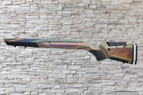 Boyds At one Camo Stock Savage 110 Tactical Short Action AICS Magazine Heavy Barrel Rifle