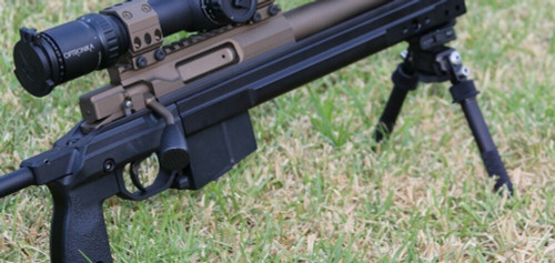 "Lumley Tactical Matte Carbon Fiber Rifle Bolt Knob 5/16""x24 TPI"