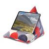 Tablet Beanbag - Scandi Hills Red & Navy
